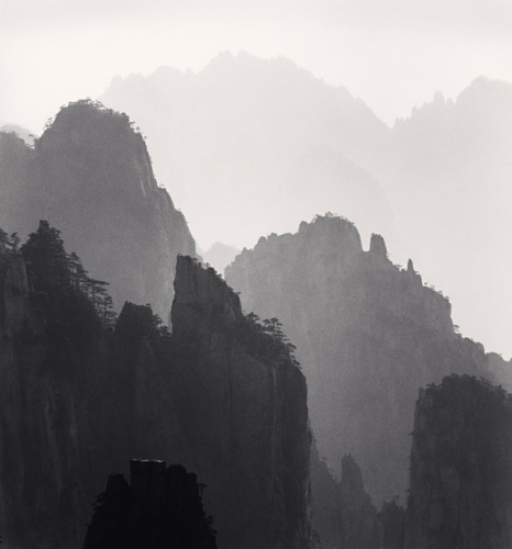 Michael Kenna, Huangshan Mountains, Study 10, Anhui, China, 2008