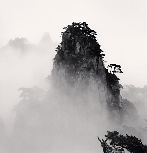 Michael Kenna, Huangshan Mountains, Study 11, Anhui, China, 2008