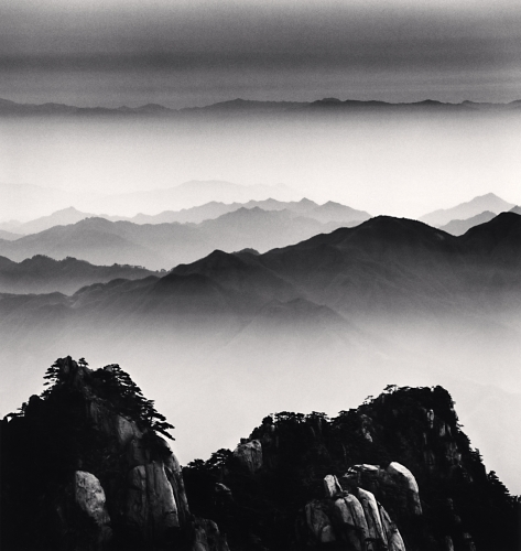 Michael Kenna, Huangshan Mountains, Study 12, Anhui, China, 2008