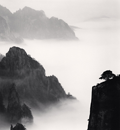 Michael Kenna, Huangshan Mountains, Study 13, Anhui, China, 2008