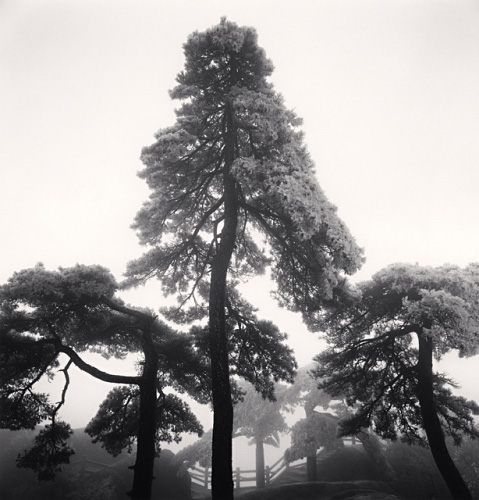 Michael Kenna, Huangshan Mountains, Study 14, Anhui, China, 2009