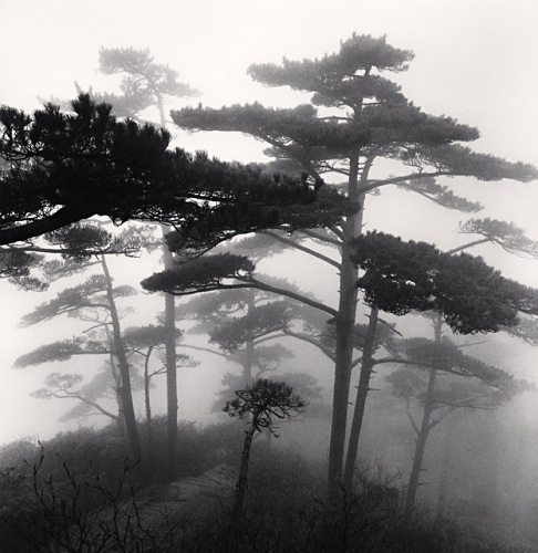 Michael Kenna, Huangshan Mountains, Study 15, Anhui, China, 2009