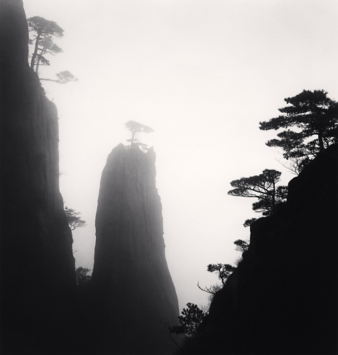 Michael Kenna, Huangshan Mountains, Study 16, Anhui, China, 2009