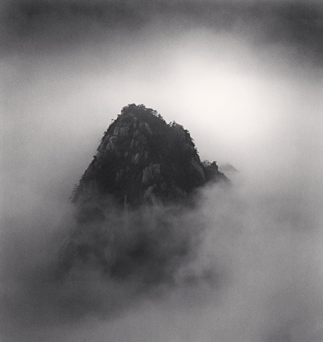 Michael Kenna, Huangshan Mountains, Study 17, Anhui, China, 2009