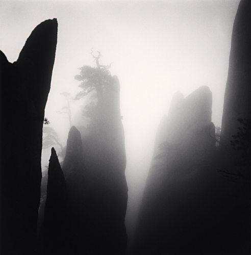 Michael Kenna, Huangshan Mountains, Study 19, Anhui, China, 2009