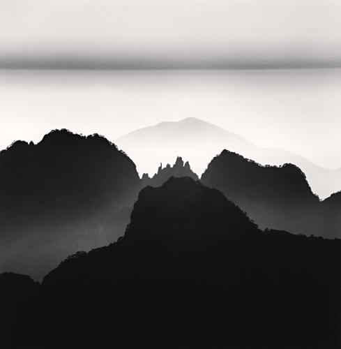 Michael Kenna, Huangshan Mountains, Study 2, Anhui, China, 2008