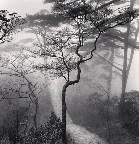 Michael Kenna, Huangshan Mountains, Study 20, Anhui, China, 2009