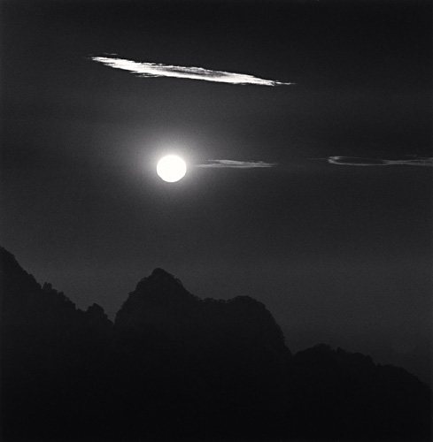 Michael Kenna, Huangshan Mountains, Study 22, Anhui, China, 2009