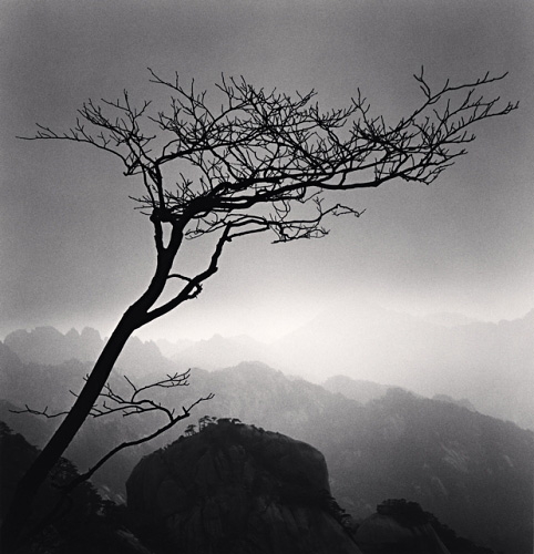 Michael Kenna, Huangshan Mountains, Study 24, Anhui, China, 2009