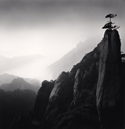 Michael Kenna, Huangshan Mountains, Study 25, Anhui, China, 2009