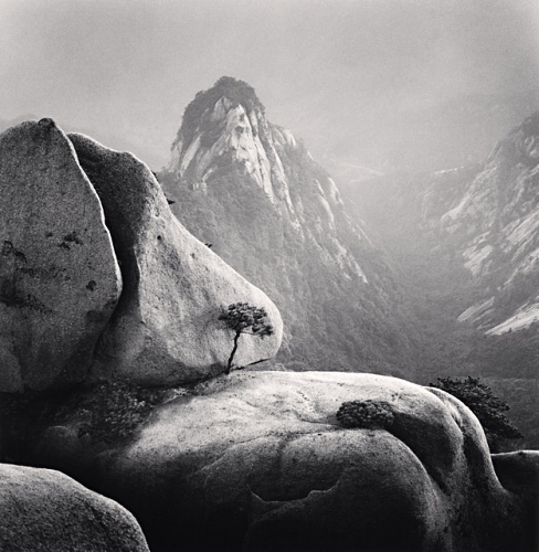 Michael Kenna, Huangshan Mountains, Study 27, Anhui, China, 2009