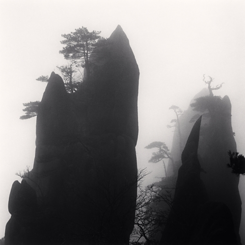 Michael Kenna, Huangshan Mountains, Study 28, Anhui, China, 2009