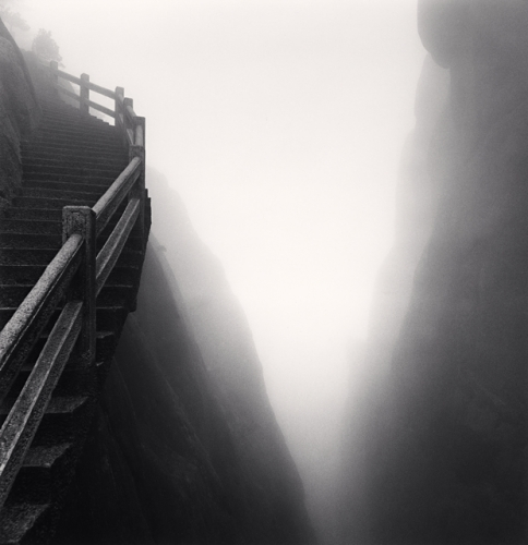 Michael Kenna, Huangshan Mountains, Study 29, Anhui, China, 2009