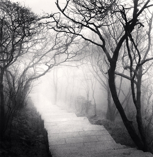Michael Kenna, Huangshan Mountains, Study 3, Anhui, China, 2008