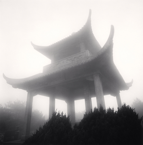 Michael Kenna, Huangshan Mountains, Study 30, Anhui, China, 2009