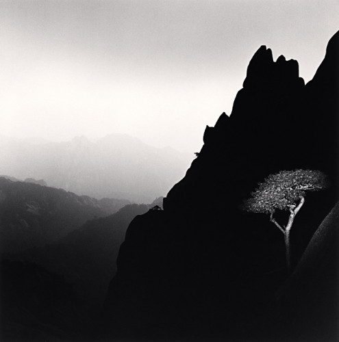 Michael Kenna, Huangshan Mountains, Study 31, Anhui, China, 2009