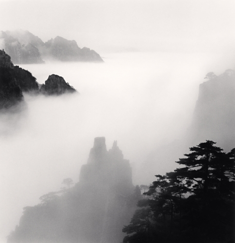 Michael Kenna, Huangshan Mountains, Study 35, Anhui, China, 2008