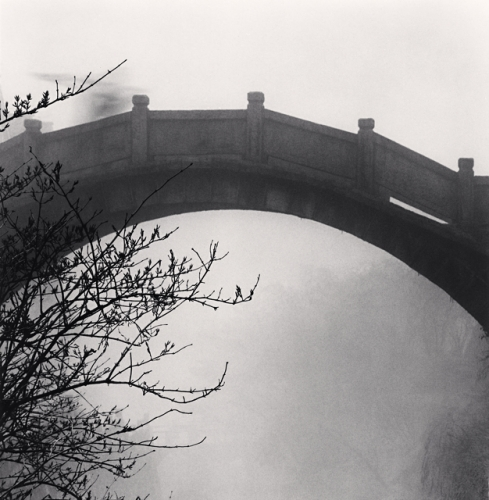 Michael Kenna, Huangshan Mountains, Study 36, Anhui, China, 2008