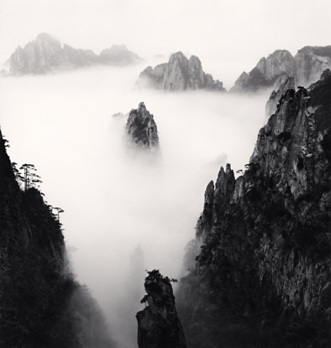 Michael Kenna, Huangshan Mountains, Study 37, Anhui, China, 2010
