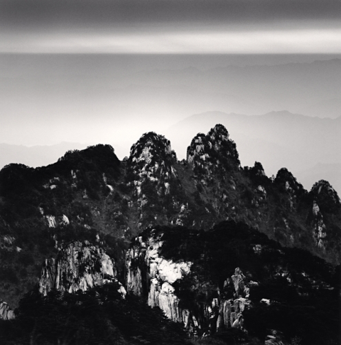 Michael Kenna, Huangshan Mountains, Study 38, Anhui, China, 2010