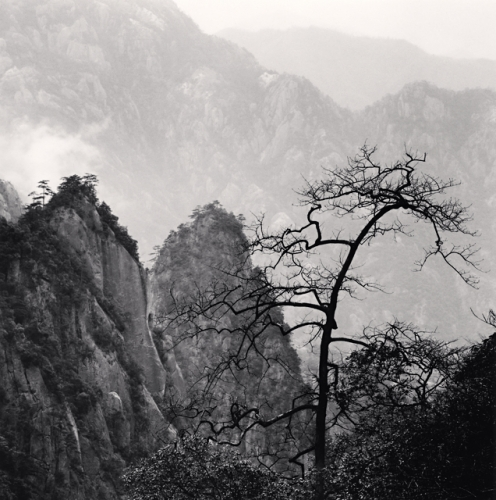 Michael Kenna, Huangshan Mountains, Study 39, Anhui, China, 2010