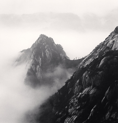 Michael Kenna, Huangshan Mountains, Study 4, Anhui, China, 2008