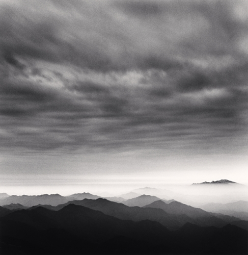 Michael kenna, Huangshan Mountains, Study 41, Anhui, China, 2010