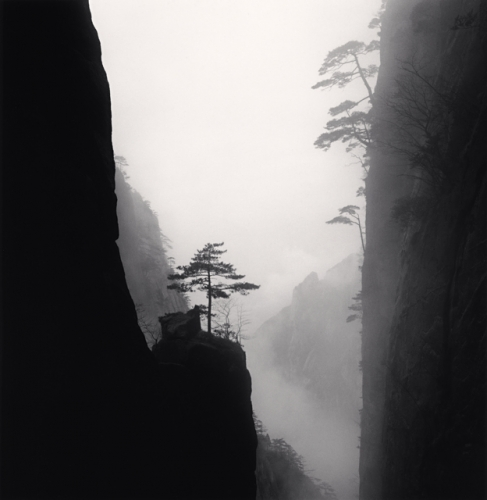 Michael Kenna, Huangshan Mountains, Study 43, Anhui, China, 2010