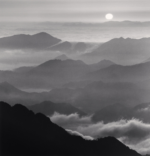 Michael Kenna, Huangshan Mountains, Study 46, Anhui, China, 2010