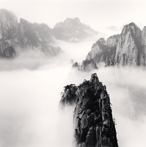 Michael Kenna, Huangshan Mountains, Study 47, Anhui, China, 2010