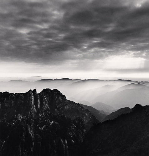Michael Kenna, Huangshan Mountains, Study 5, Anhui, China, 2008