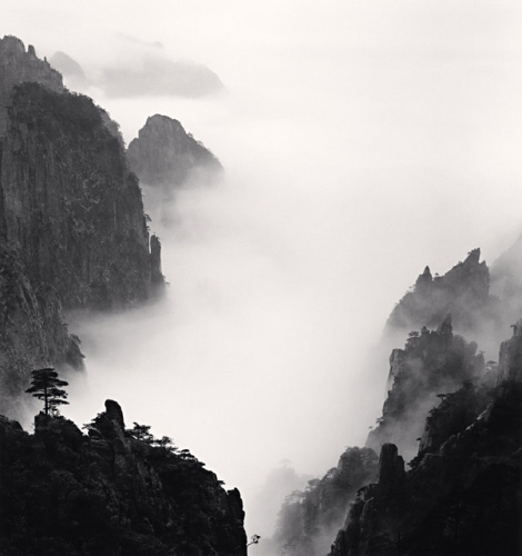 Michael Kenna, Huangshan Mountains, Study 8, Anhui, China, 2008