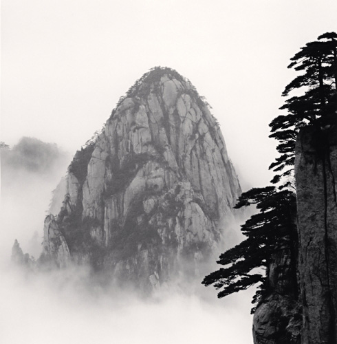 Michael Kenna, Huangshan Mountains, Study 9, Anhui, China, 2008
