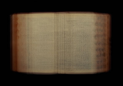 Doug Keyes, The Holy Bible (1950), 1999, 15.5 x 22.5 x 1.5 inches, edition of 5