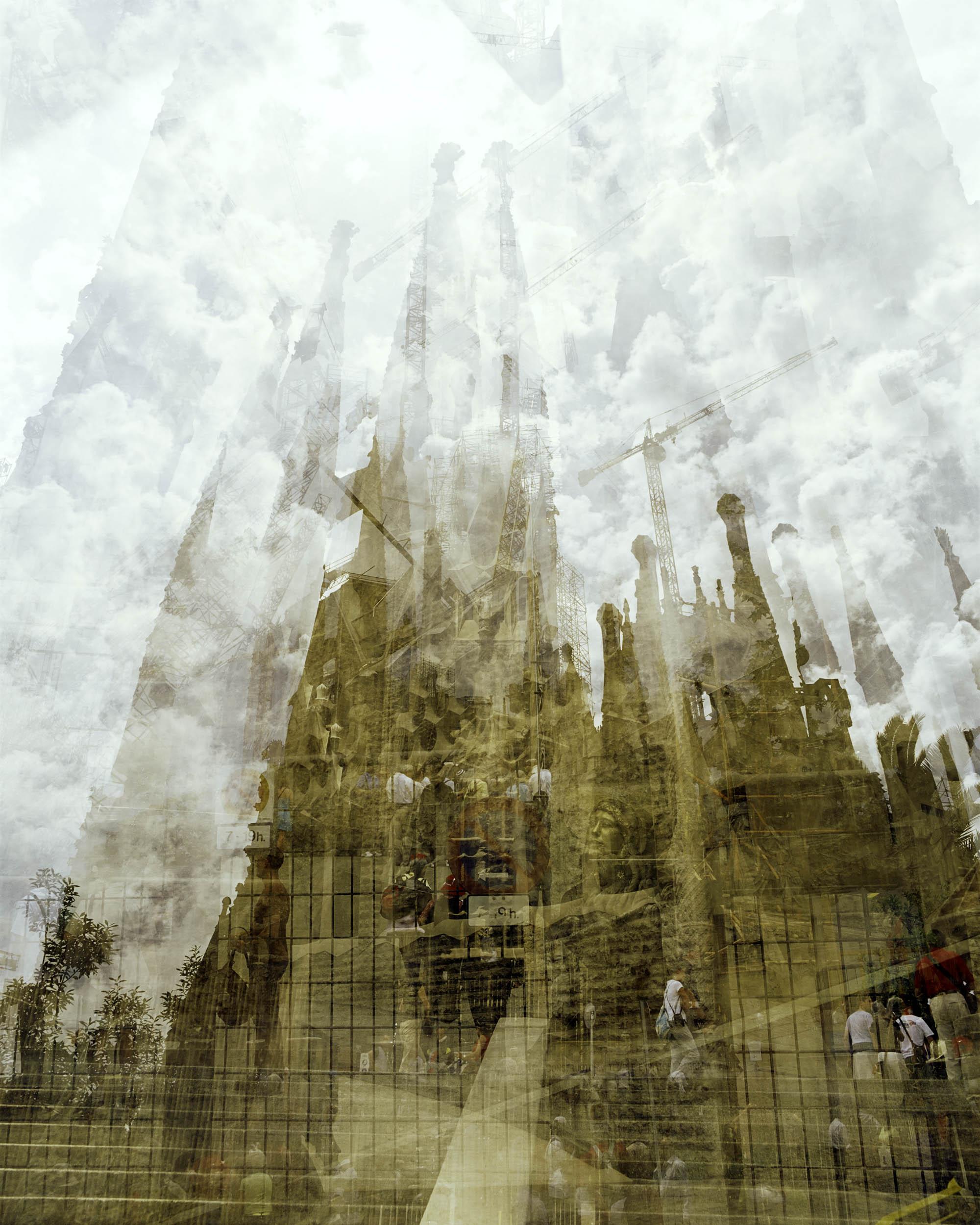 Doug Keyes, La Sagrada Familia, Barcelona, 2006