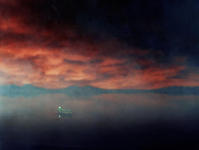 Lori Nix, Red Sky, 2001