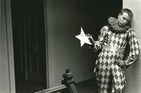 Duane Michals, Harlequin, 1985, photograph, 8 x 10 inches