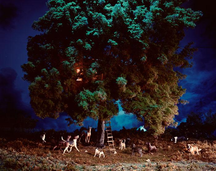 Lori Nix, Treehouse, 2004