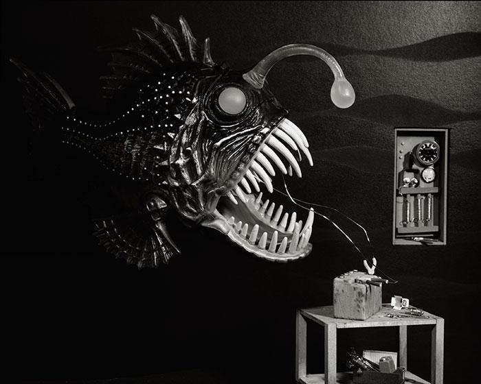 Lori Nix, Angler Fish, 2009