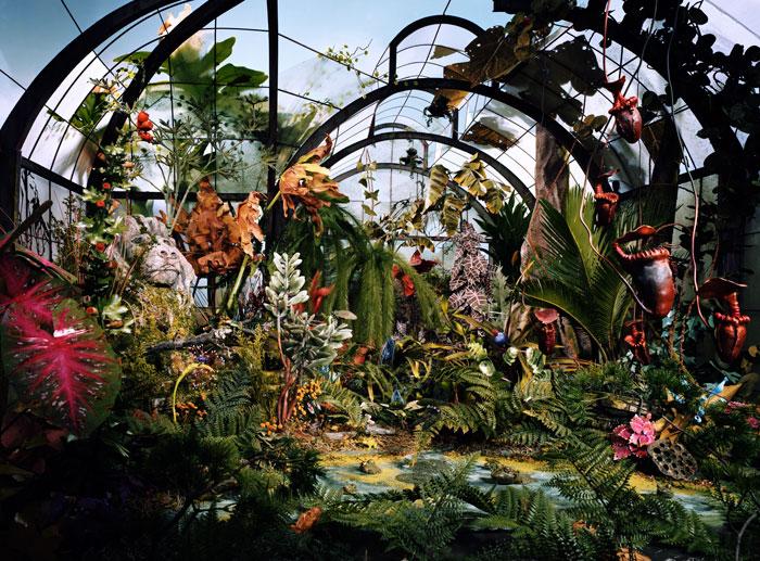Lori Nix, Botanical Garden, 2008