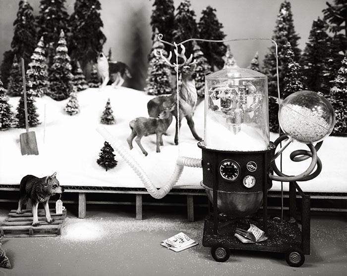 Lori Nix, Snow, Maker, 2009