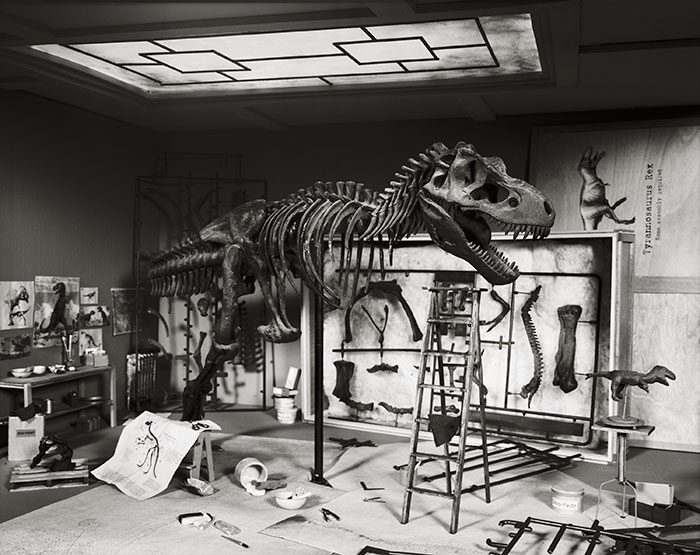 Lori Nix, T-Rex, 2010