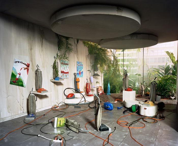 Lori Nix, Vacuum Showroom, 2006