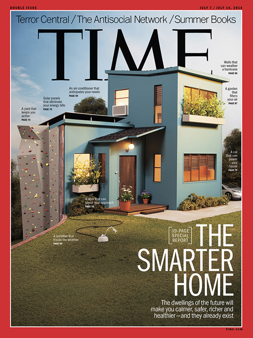 Model house and photograph by Lori Nix and Kathleen Gerber for TIME