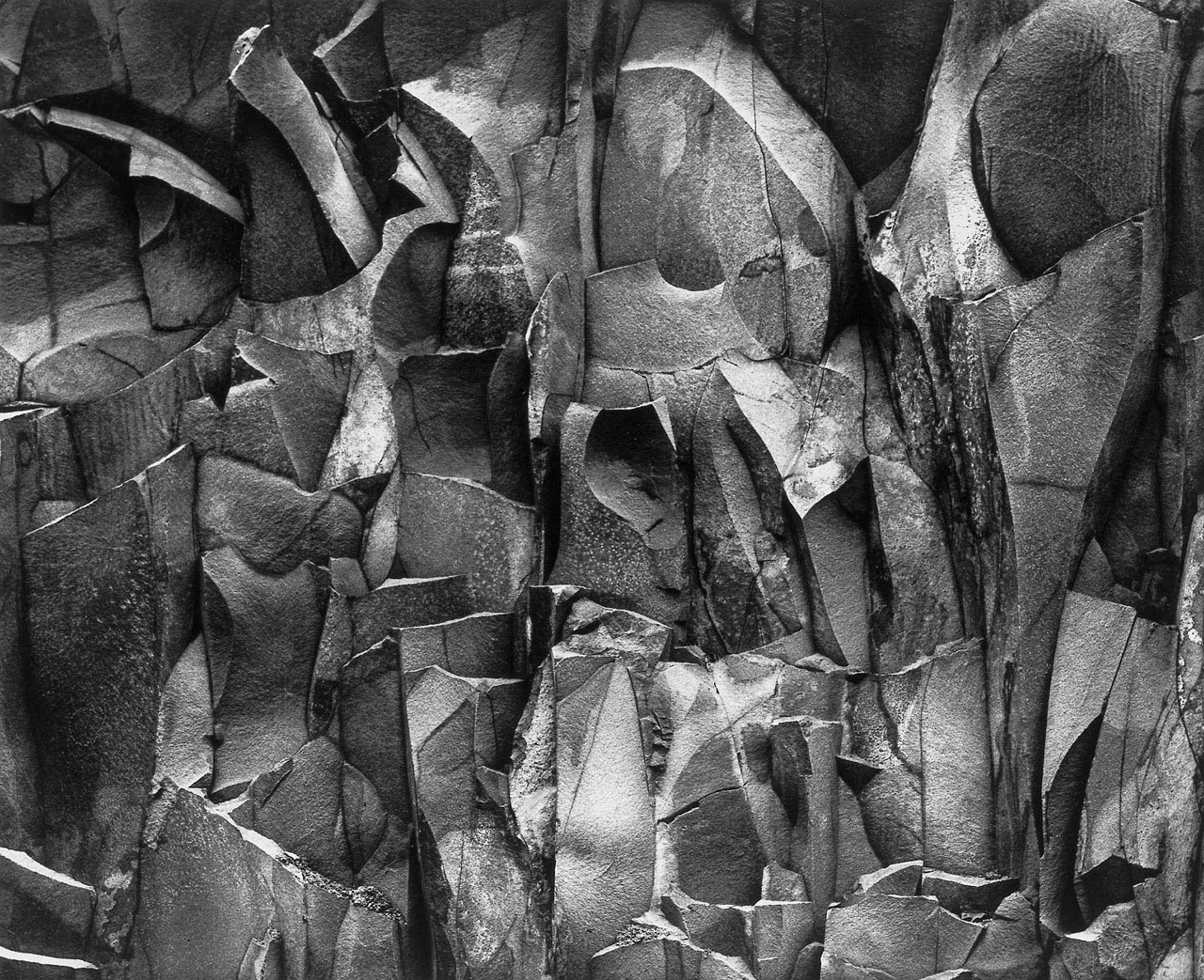 Paul Caponigro, Rock Wall No.2, West Hartford, Connecticut, 1959