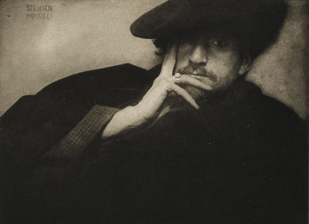 Edward Steichen, Solitude, F. Holland Day from Camera Work, The Steichen Supplement, 1906, photogravure, 4.25 x 6.5 inches