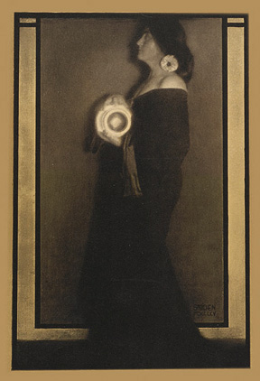 Edward Steichen, Cover Design from Camera Work XIV, 1906, photogravure