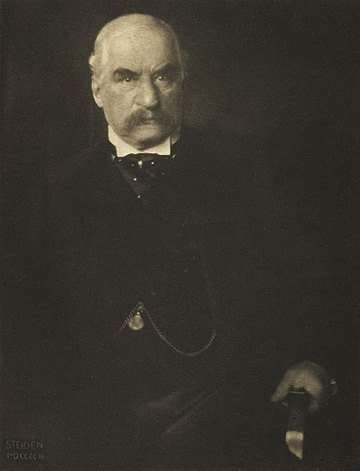 Edward Steichen, J. Pierpont Morgan, Esq. from Camera Work, Steichen Supplement, 1906, photogravure