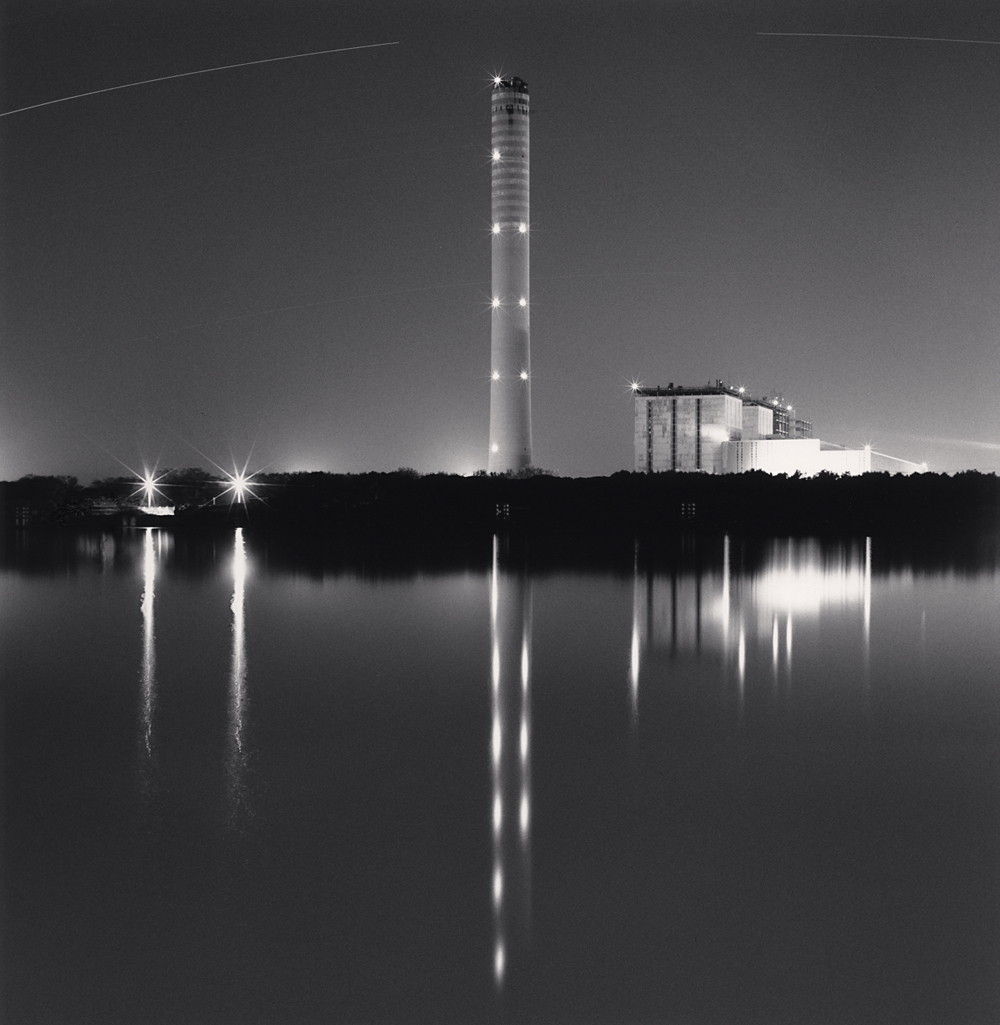 Michael Kenna, Night Power Station, Pila, Porto Tolle, Rovigo, Italy, 2018