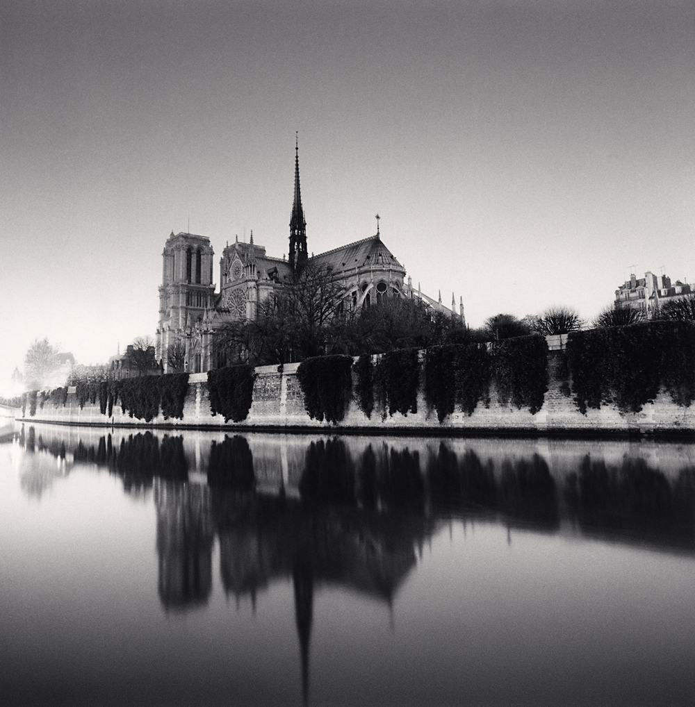 Michael Kenna, Notre Dame, Study 3, Paris, France, 1987